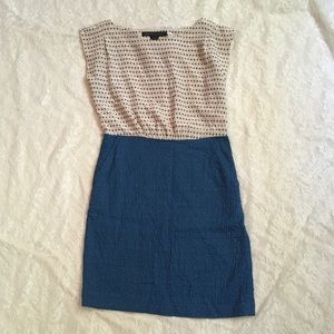 Marc by Marc Jacobs silk A-Line dress with zipper
